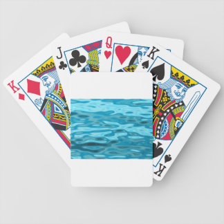 Water Reflections Bicycle Playing Cards