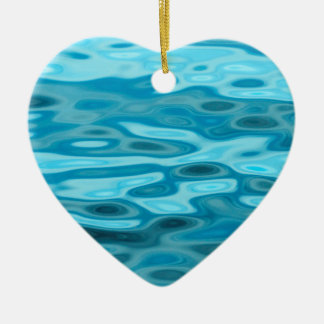 Water Reflections Ceramic Ornament