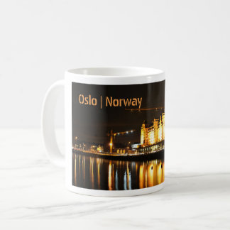 Water reflections in Oslo, Norway Coffee Mug