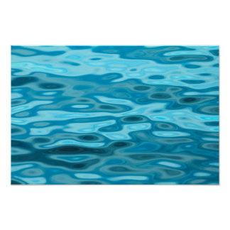 Water Reflections Poster