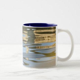 Water ripple abstract mug