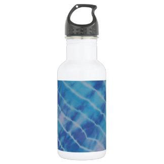 Water Ripple Reflection Lines Tie Dye 532 Ml Water Bottle
