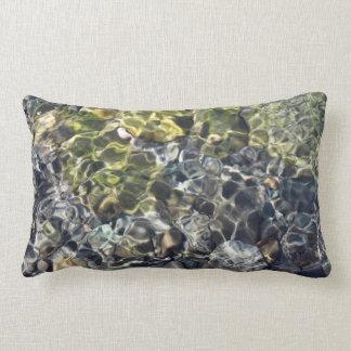 Water Ripples Lumbar Pillow