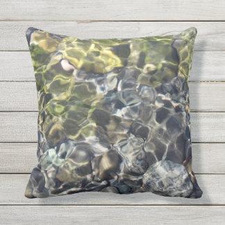 Water Ripples Outdoor Pillow