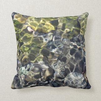 Water Ripples Throw Pillow