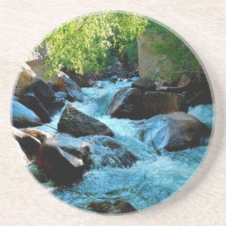 Water Rocky River Rapids Drink Coasters