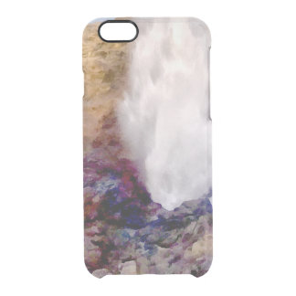 Water shower due to waves clear iPhone 6/6S case