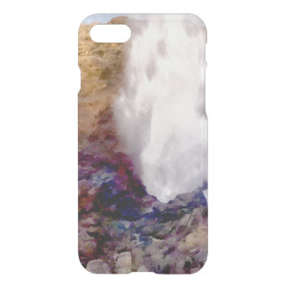 Water shower due to waves iPhone 7 case