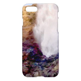 Water shower due to waves iPhone 8/7 case