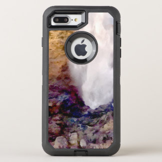 Water shower due to waves OtterBox defender iPhone 7 plus case