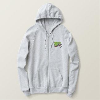 Water-ski Logo Embroidered Hoodie