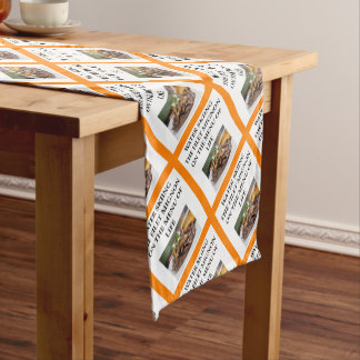 water skiing short table runner
