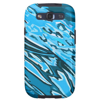 Water Skin Abstract Galaxy S3 Covers