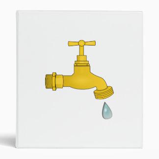 Water Spigot Vinyl Binder