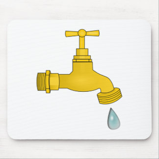 Water Spigot Mouse Pad