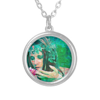 WATER SPIRIT 2 SILVER PLATED NECKLACE