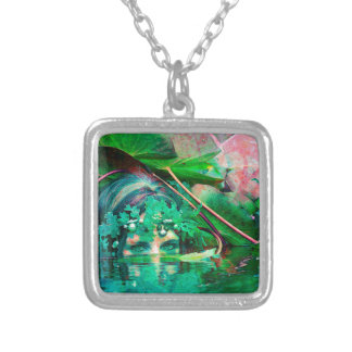 WATER SPIRIT SILVER PLATED NECKLACE