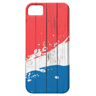Water Splash Art On Wooden Pattern,Wood Pattern iPhone 5 Case