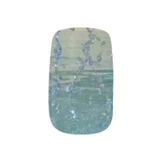 Water Splashing 2 Minx Nail Art