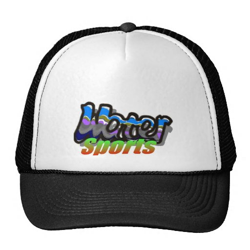 water sports2 mesh hats
