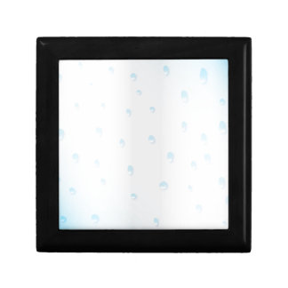 Water Spots On Glass Gift Box