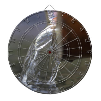 Water stream on  a well dartboards