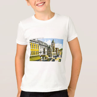 Water Street and Post Office, Augusta, Maine T-Shirt