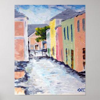 Water Street, Bermuda poster
