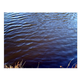 Water Surface Texture Postcard