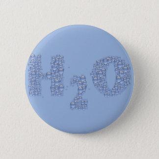 water text 2 inch round button