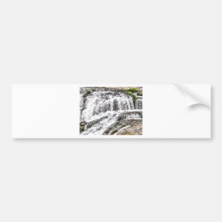 water texture scene bumper sticker