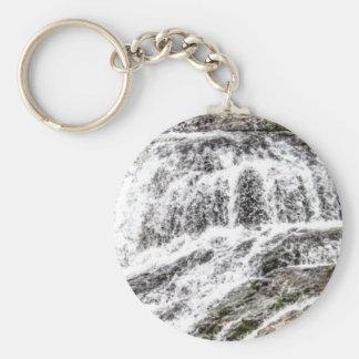 water texture scene keychain