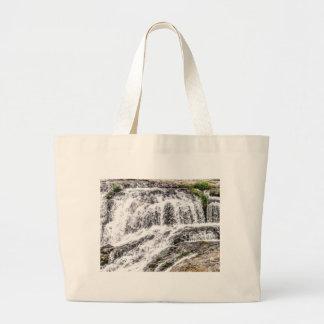 water texture scene large tote bag