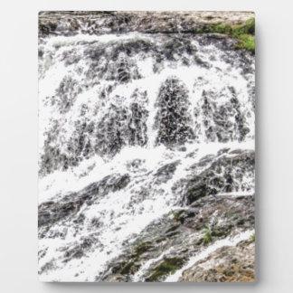 water texture scene plaque