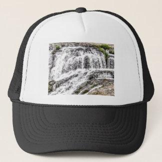 water texture scene trucker hat