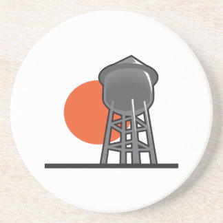 WATER TOWER AND SUN COASTERS
