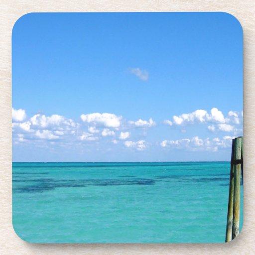 Water Tranquil Ocean Drink Coasters