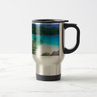 Water Tropical Retreat Seychelles Travel Mug