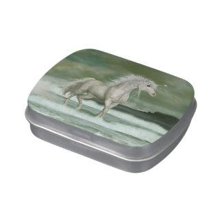Water Unicorn Candy Tin