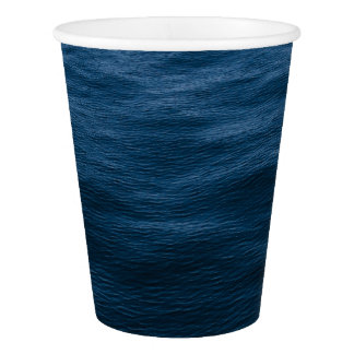 water waves paper cup