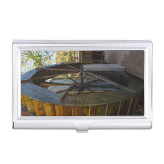 Water Wheel Dawt Mill Business Card Holder