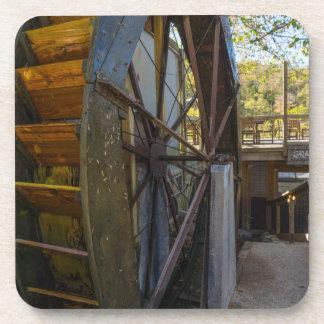 Water Wheel Dawt Mill Coaster