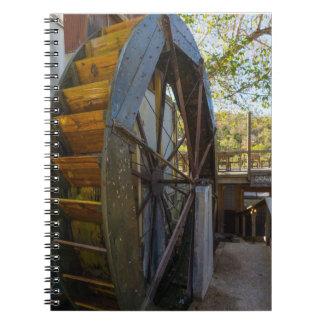Water Wheel Dawt Mill Note Book
