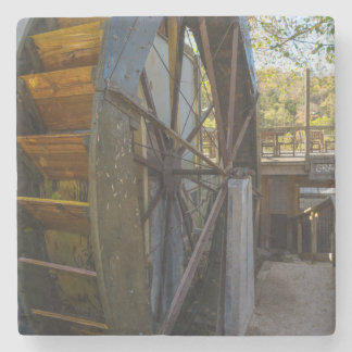 Water Wheel Dawt Mill Stone Coaster