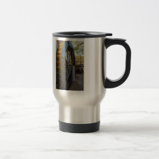 Water Wheel Dawt Mill Travel Mug