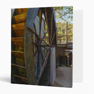 Water Wheel Dawt Mill Vinyl Binder