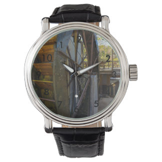 Water Wheel Dawt Mill Wrist Watches