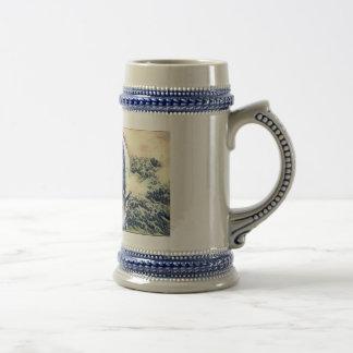 Water White Horse Beer Mug