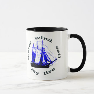 Water Wind Sail Mug