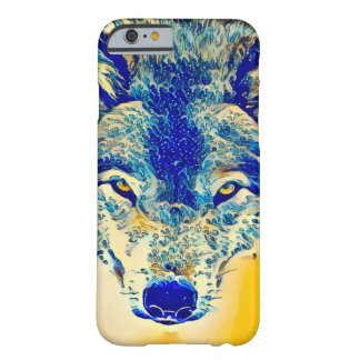 Water Wolf Watercolor Fantasy Art iPhone 6/6s Case